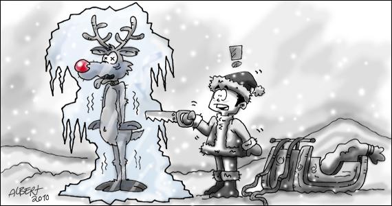 Menti Schnee comic