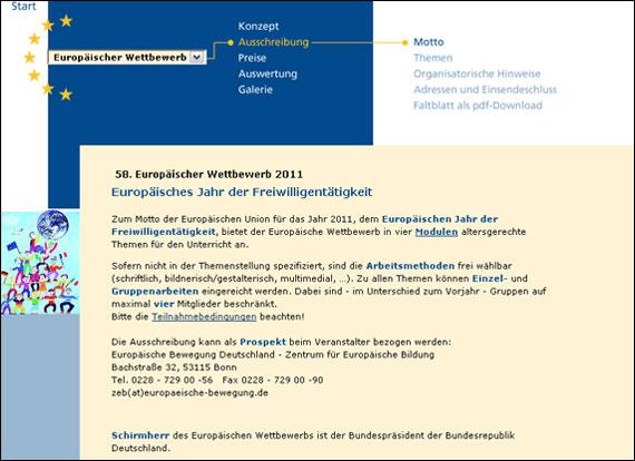 Screenshot europaeischer-wettbewerb