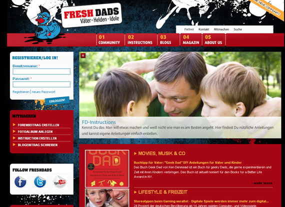 Screenshot Freshsdads