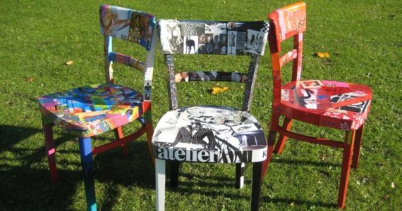Alte Stühle Neu Gestalten alte sthle neu gestalten alten mbel esstisch stuhl wei alte sthle