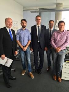 Bürgermeister Uwe Becker, Geschäftsführung und Portfoliomanager bei Gas Union